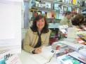 Elvira Lindo en la Feria del Libro de Madrid