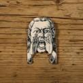 shout brooch