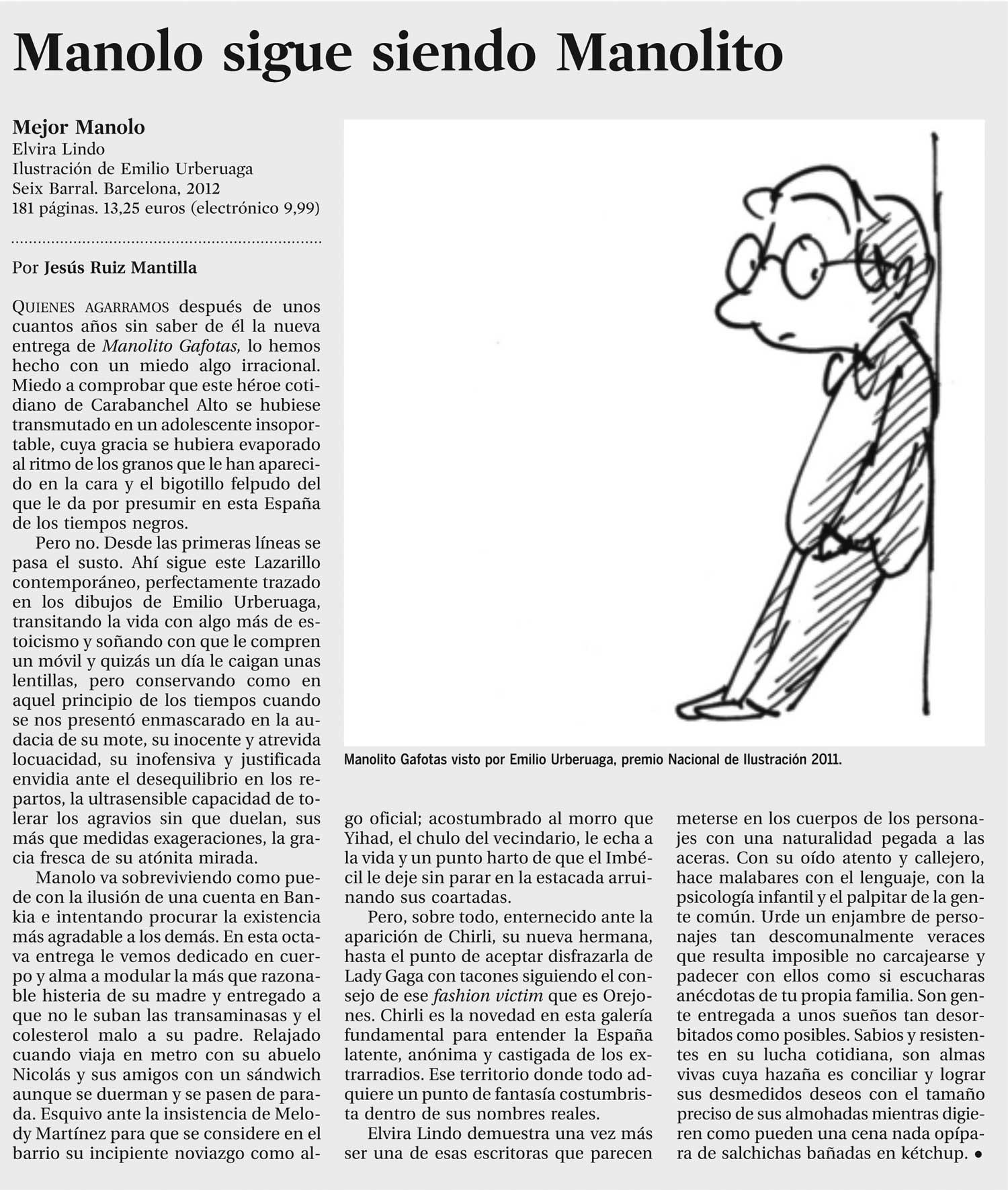 Manolito Gafotas | Elvira Lindo - Página Web Oficial - Noticias ...
